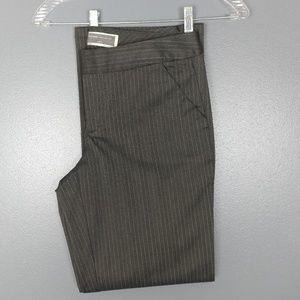 Dockers - gray pinstripe wide leg pant
